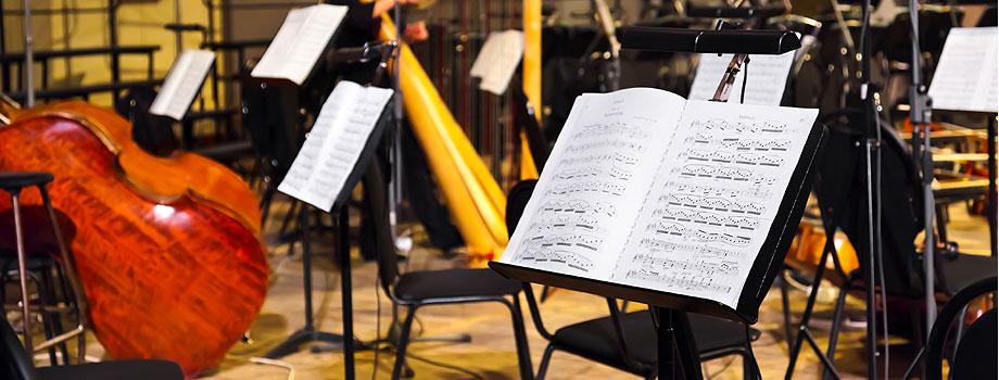 Orchesterumzug
