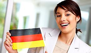 Frau-mit-Flagge